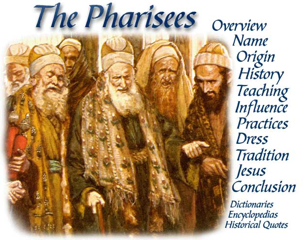 the origin and history of the pharisees The origins of the pharisees are obscure according to jewish tradition, pharisaic (= rabbinic) judaism can be traced back to ezra and the beginnings of the scribal movement in the fifth century bc.